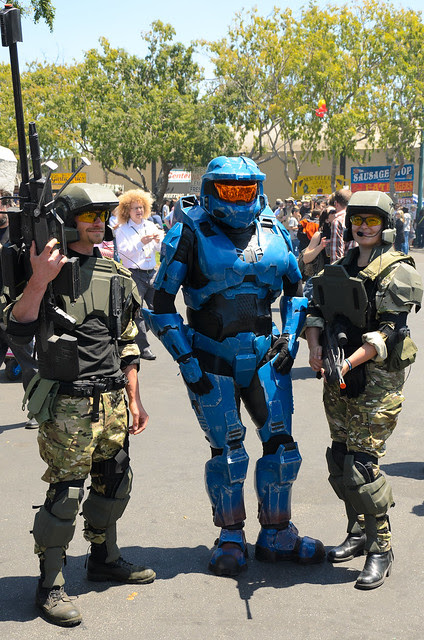 Halo Cosplayers