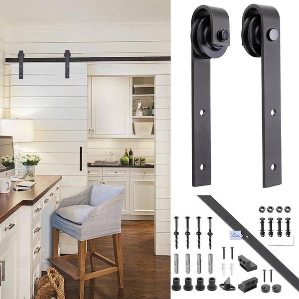 Best Of Kitchen Barn Door Pictures Decor And Ideas