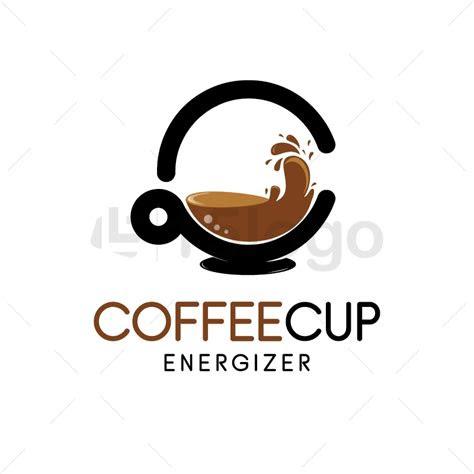 coffee cup logo design  logo