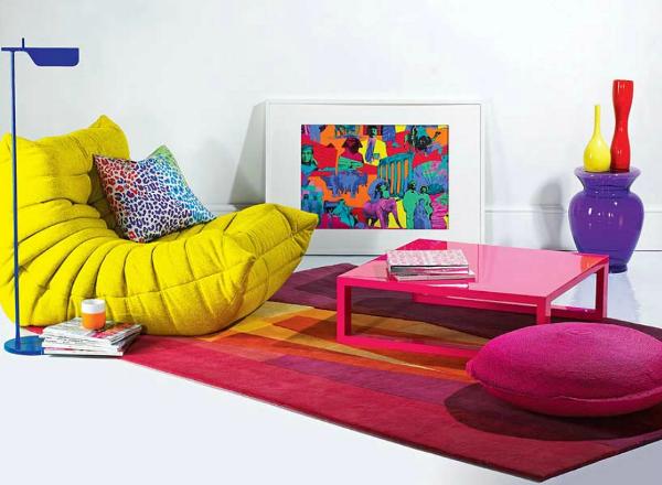 Resultado de imagem para decoração de tapetes para sala