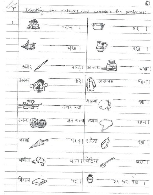 6 FREE FREE PRINTABLE EVS WORKSHEETS FOR GRADE 1 CBSE HD ...