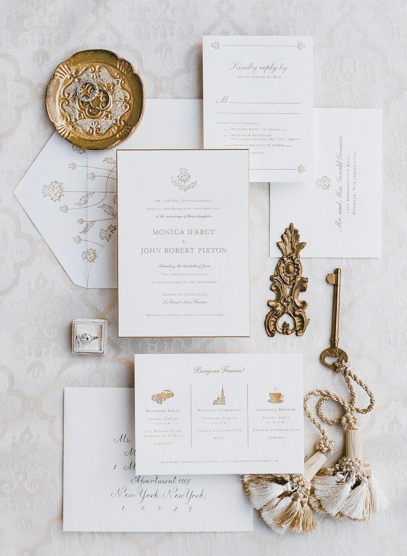 An Elegant Chateau Wedding in France's Loire Valley