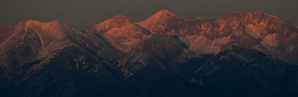 Twin Peaks, Ellingwood Point, Blanca and Little Bear
