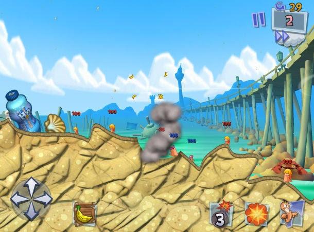 Worms-3---Banana-Bomb