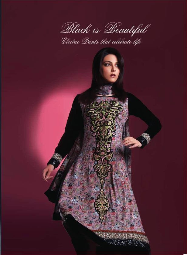 Eiza Winter Collection 2012 for Women by UA Textile 01