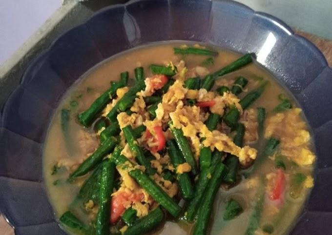 Resep Praktis Oseng kacang telur orek Lezat
