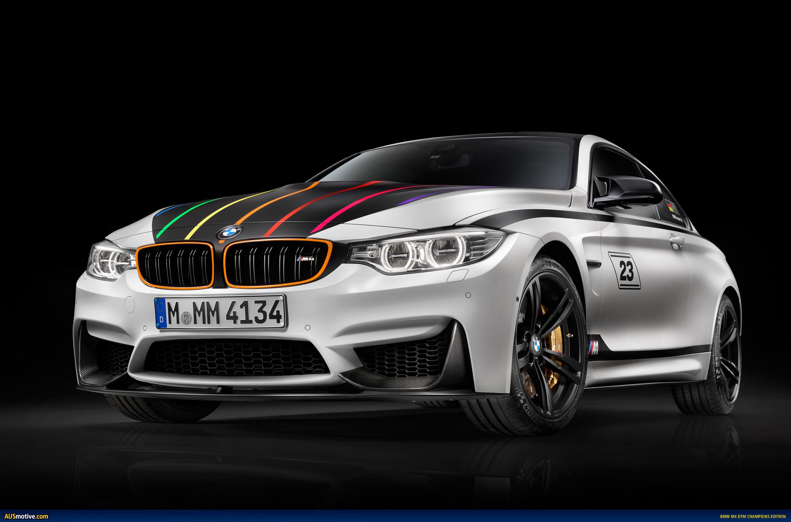 AUSmotive.com » BMW M4 DTM Champion Edition revealed