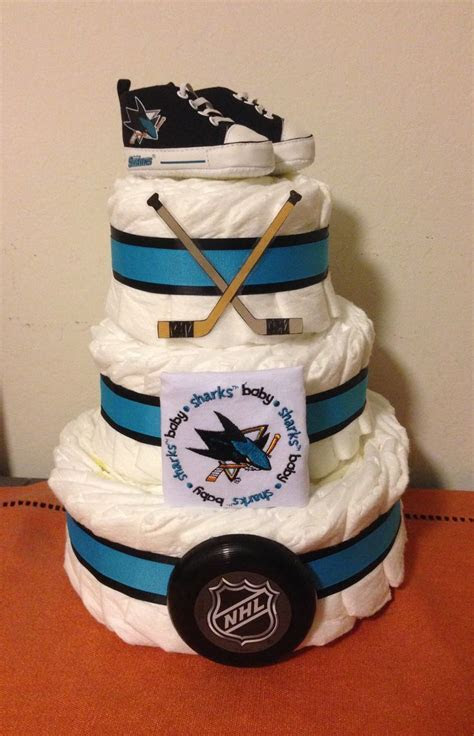 27 best Hockey baby shower images on Pinterest   Baby