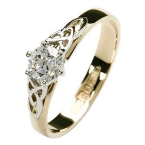A Traditional Diamond Celtic Ring You'll Love