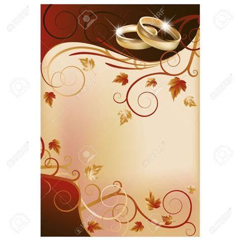 Blank Wedding Invitation Card