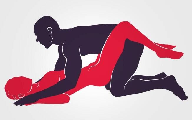 28. MOCINHA E BANDIDO: De joelhos, ele imobiliza os braços da parceira num bote certeiro. Boa pedida pra transar no chão . Foto: Renato Munhoz (Arte iG)