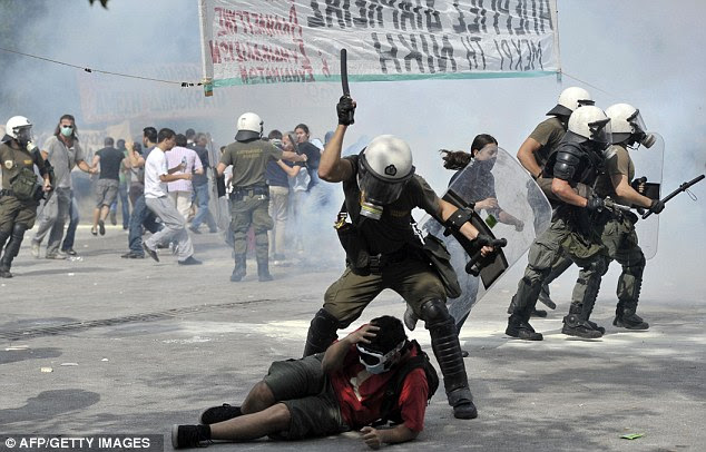 Shattered democracy: The political establishment has lost its grip in Greece and society is in crisis