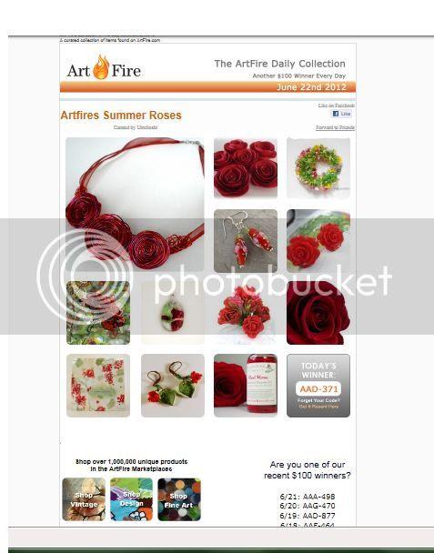 ArtFires Summer Roses