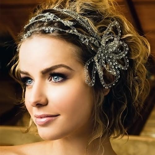 acconciature sposa capelli corti mossi - Sposa coi capelli corti tutte le acconciature e gli hairstyle glam Grazia it