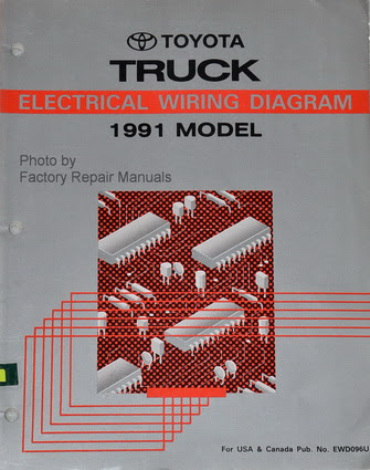 1991 Toyota Pickup Truck Electrical Wiring Diagrams ...
