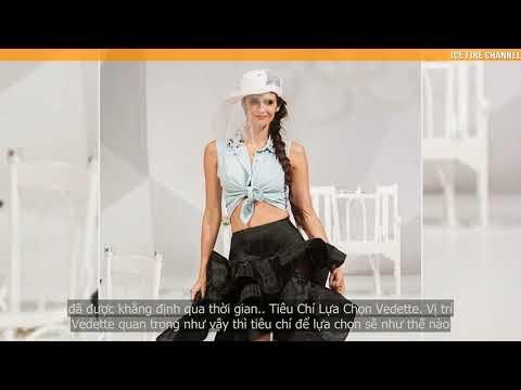 Tìm hiểu về vị trí Vedette trên sàn diễn thời trang