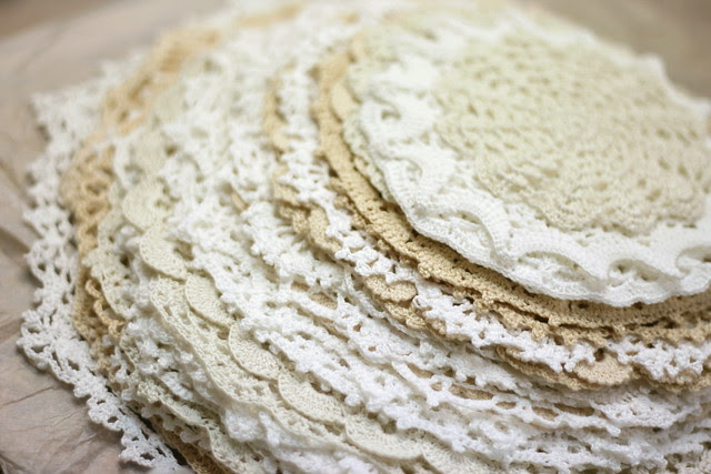 Doily stack