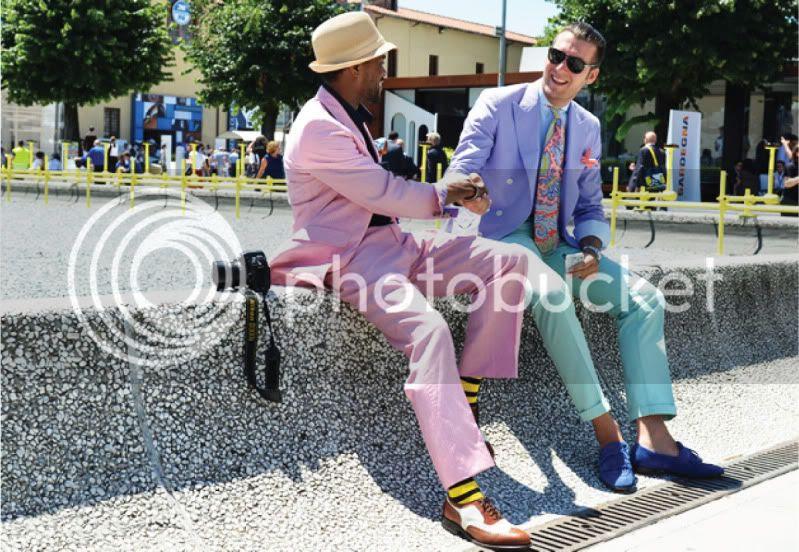 Mens Fashion Week Spring/Summer 2012 - Colour Mania @ StreetStylista.Homme