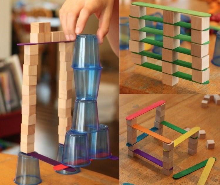 deko ideen bauen mit kindern konstruktive spiele f r jungen und m dchen. Black Bedroom Furniture Sets. Home Design Ideas