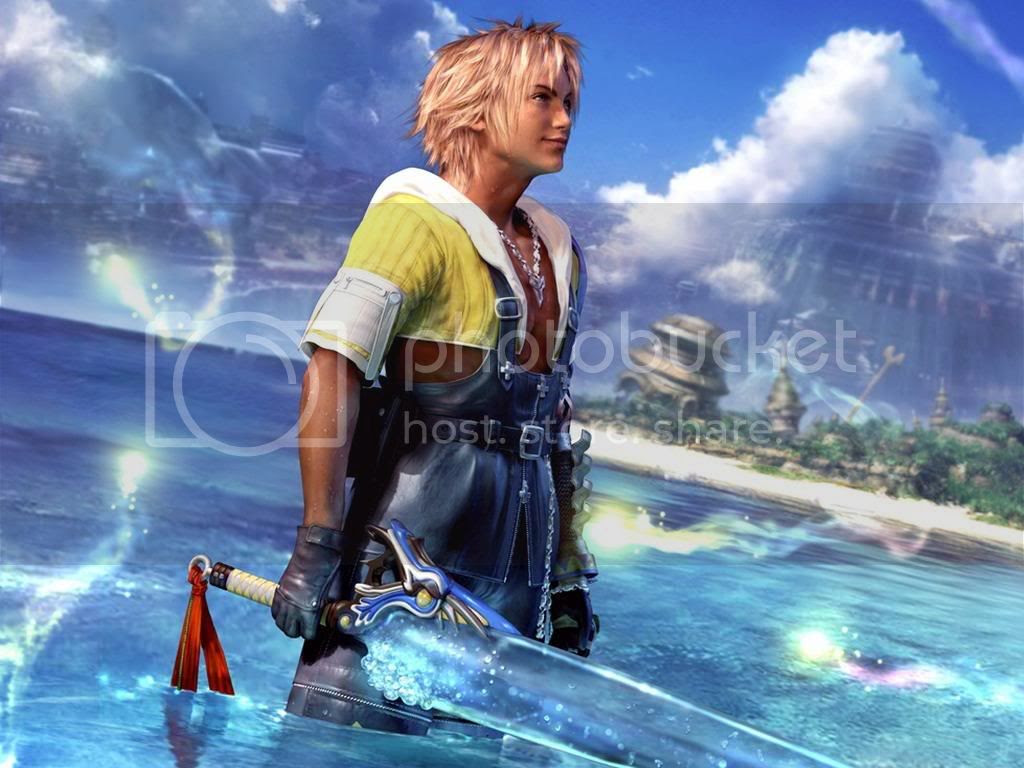 Tidus Final Fantasy X Wallpaper