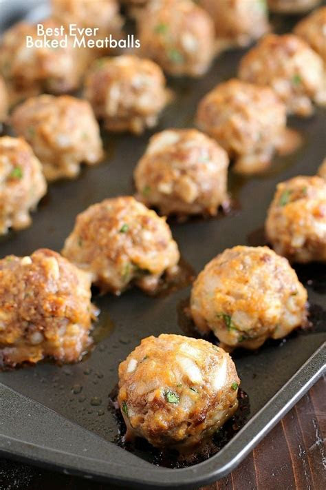 easy baked meatballs yummy healthy easy