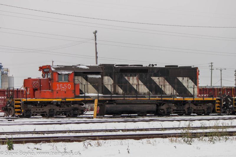 CN 1650 in Calgary