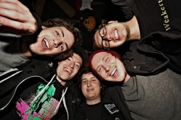 Touche Amore Group Photo