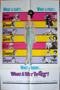 What A Way To Go US one sheet movie poster (1965)