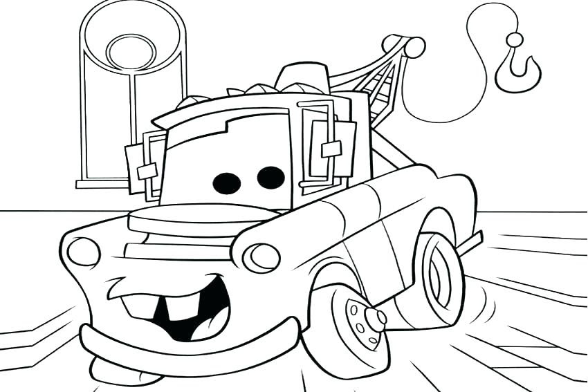 920 Printable Coloring Pages Lightning Mcqueen  Images