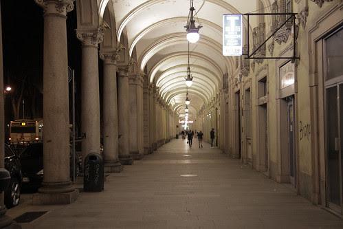 Ominous passage in Torino