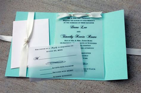 17 Best ideas about Tiffany Blue Invitations on Pinterest