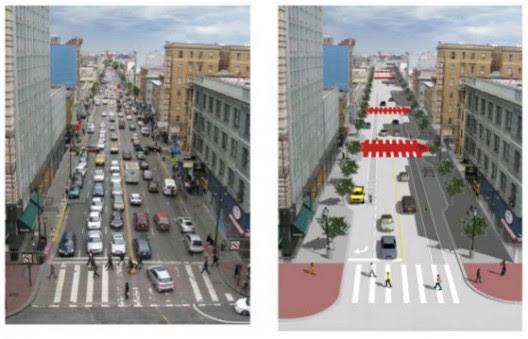Proyecto para 6th Street, San Francisco.