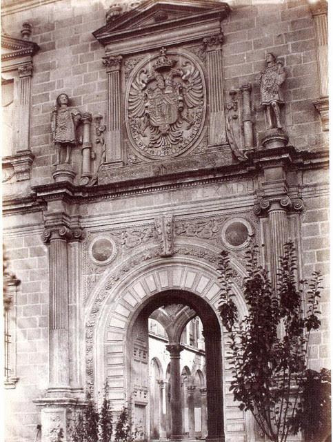 Alcázar de Toledo en 1858. Fotografía de Jean Laurent