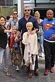 liev schreiber sons dress up in costume at comic con 01