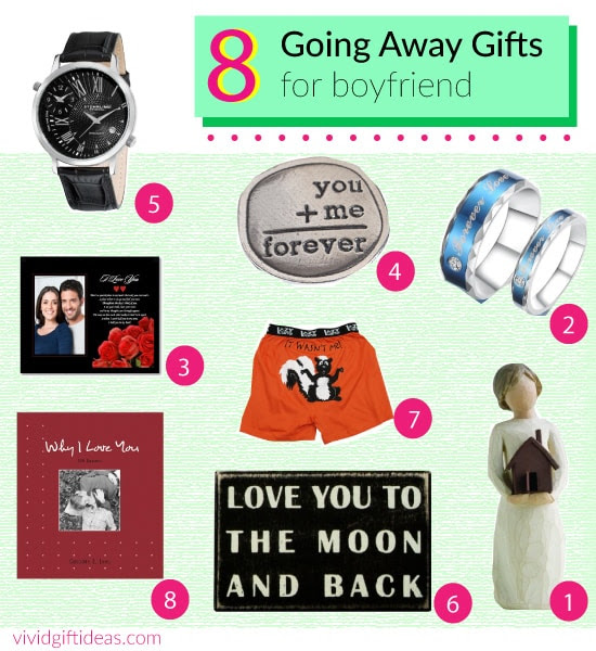 Going Away Gift Ideas for Boyfriend