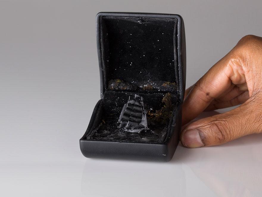 Диорамы в винтажных шкатулках  диорама, коробочка, миниатюра, шкатулка