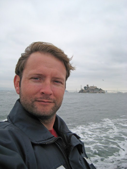 Self Portrait in San Francisco Bay