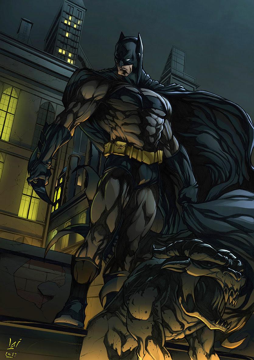 Batman by Alvaro Jimenez