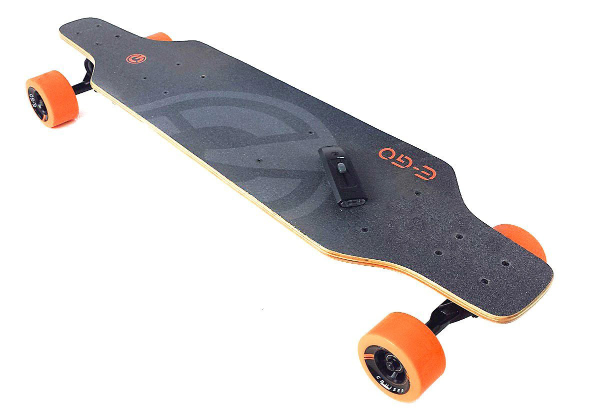 Yuneec EGO  Electric Skateboard \/ Personal Transporter  The Green Head