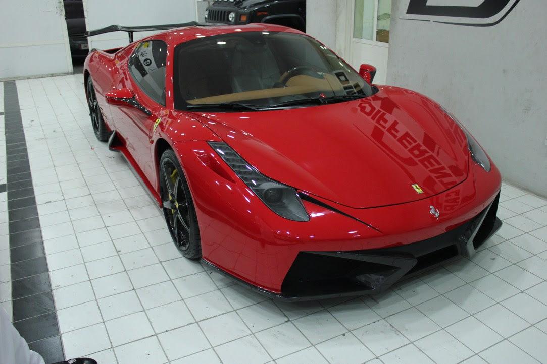 Ferrari 458 Spider F66 Body Kit by Different Car ...