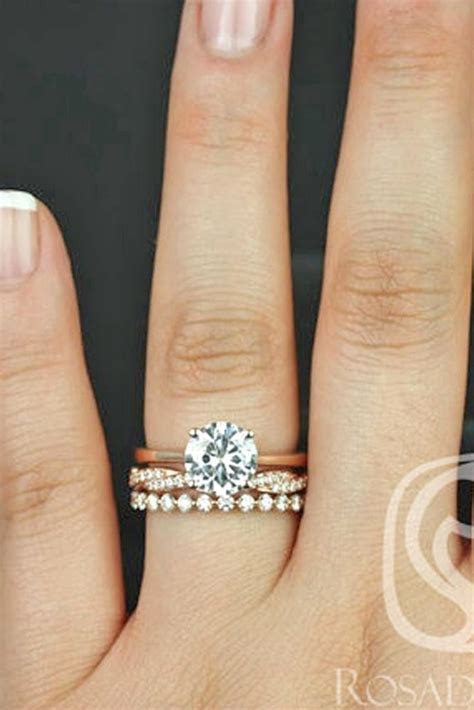 42 Wedding Ring Sets That Make The Perfect Pair   Jewelry