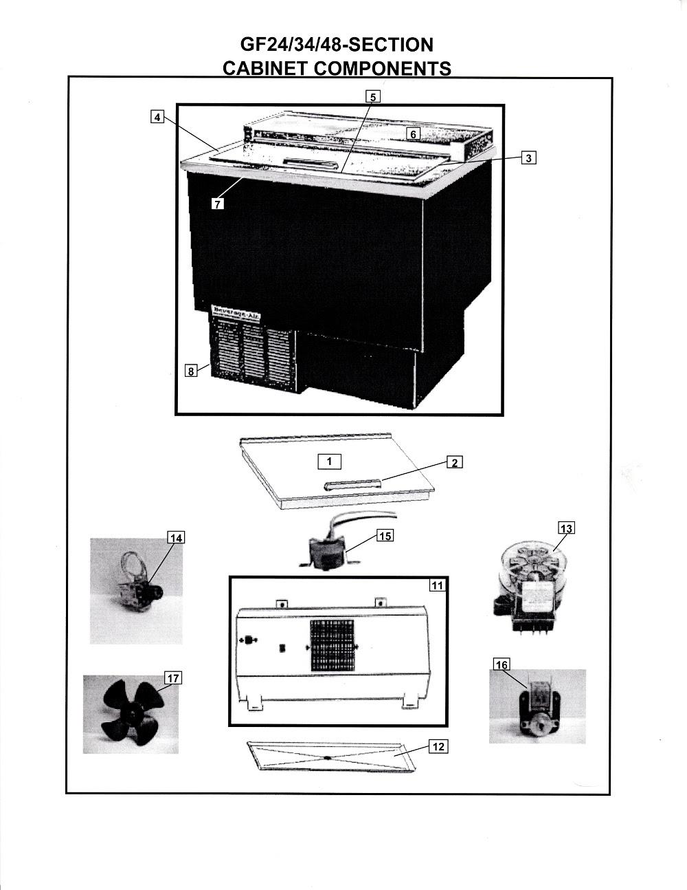 35 Beverage Air Bm23 Parts Diagram