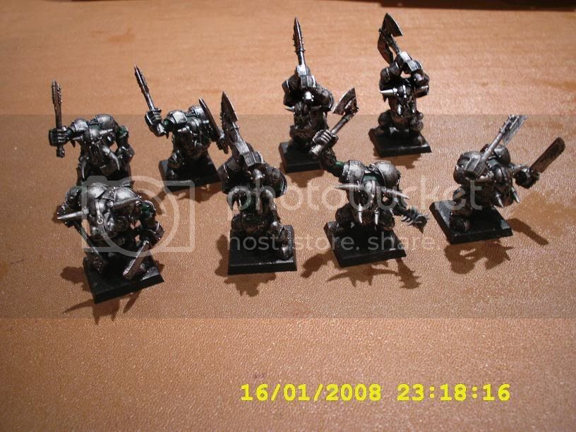 Black Orcs on the workbench