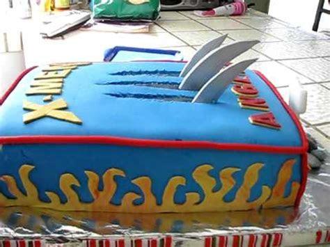 X men/Wolverine Fondant Cake   my 5th   YouTube