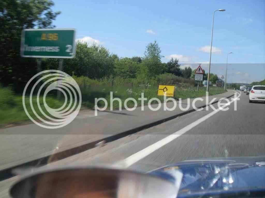 Rockness road sign