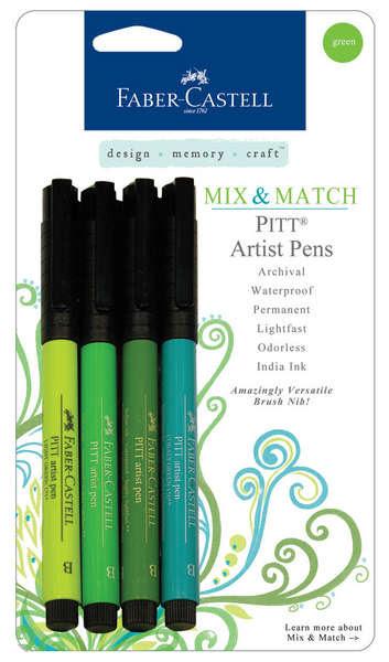 PITT® artists pens : GREEN picture
