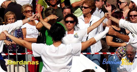 La Merce Festival Barcelona sardanes