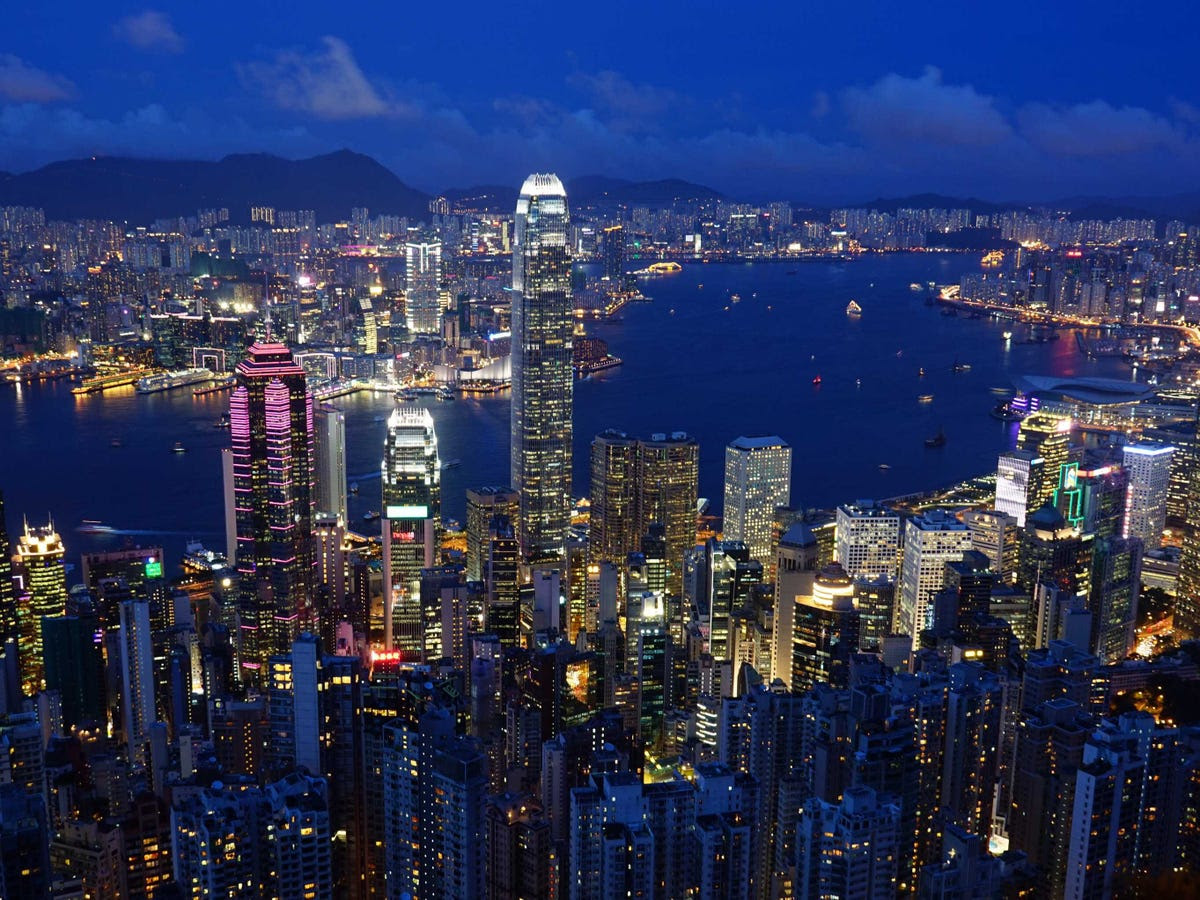 3.) HONG KONG takes the highest spot of any Asian city, as both a well-developed financial hub and a gateway to China.