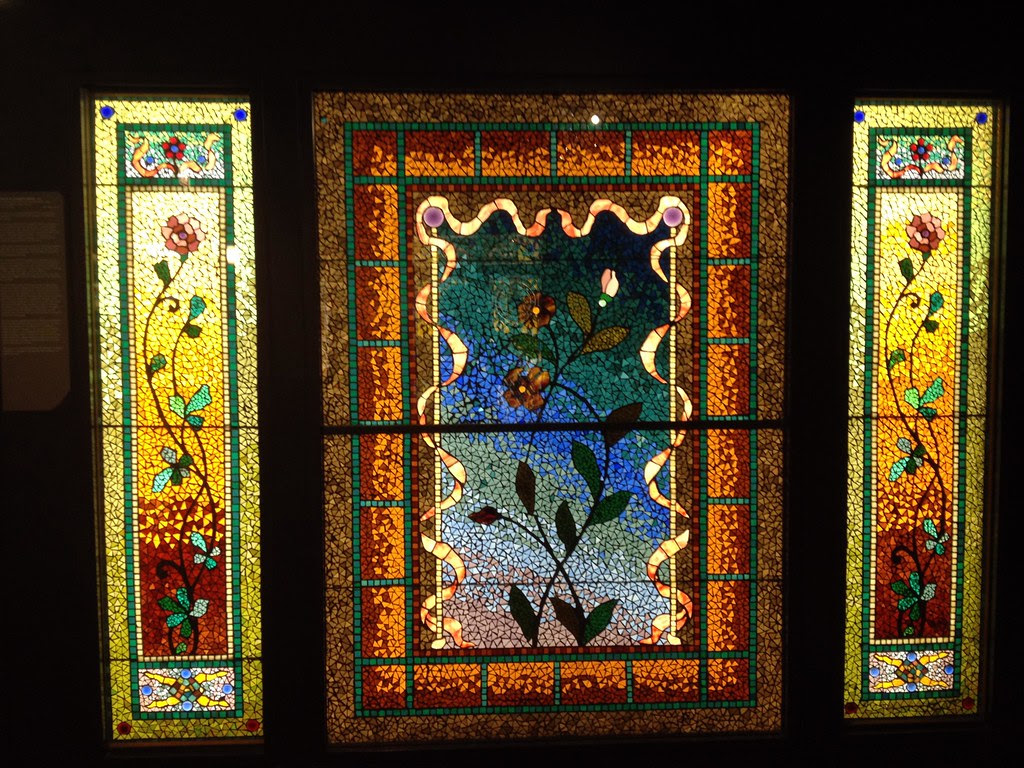 Tiffany Stained Glass Windows at the Navy Pier Smith Museum - Windy City - See Highlights From Around Chicago, Illinois! (via Wading in Big Shoes)