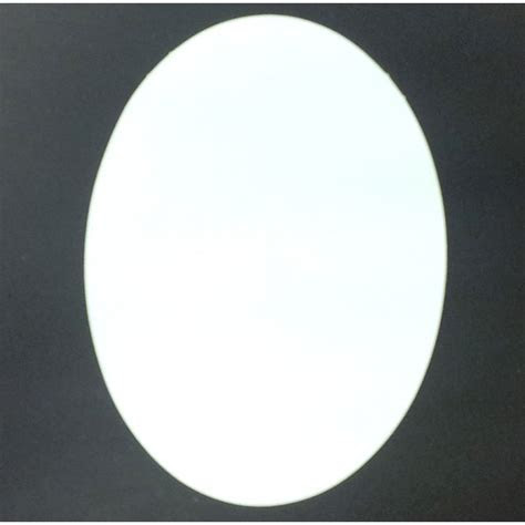 Essential Crafts White Oval Card Pack of 30
